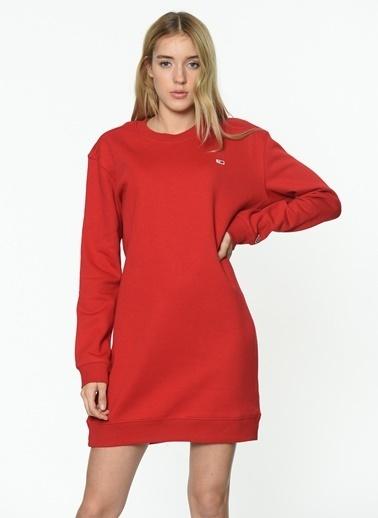 Tommy Hilfiger Elbise Kırmızı